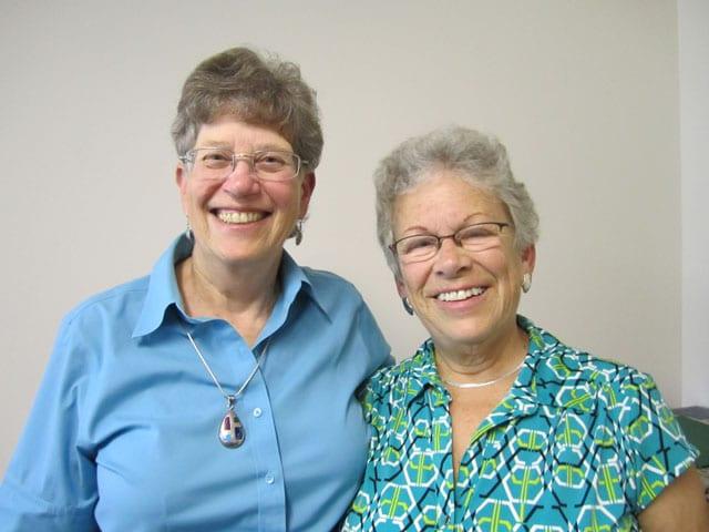 Co-chairs Judy and Sandra